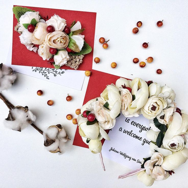 53 отметок «Нравится», 1 комментариев — УКРАШЕНИЯ ИЗ ЦВЕТОВ🌸НСК🌸 (@cvetyvvolosah) в Instagram: «Кремовый ободок с ягодками 🍒 для мамы и повязочка для дочки 👩👧👶🏼 для самой нежной семейной…»