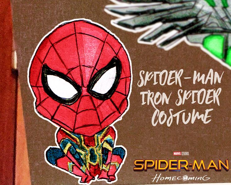 A personal favourite from my Etsy shop https://www.etsy.com/au/listing/535370040/spider-man-iron-spider-costume-chibi
