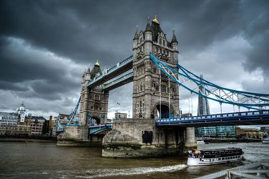 Tower Bridge with Boat. #london #england #towerbridge #BTPArchitecturePro – +...