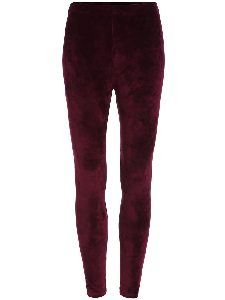 Shop Red Skinny Velvet Leggings online. SheIn offers Red Skinny Velvet Leggings & more to fit your fashionable needs.