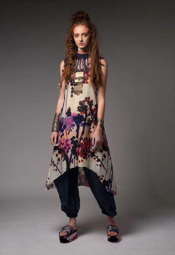 Senlin Village Dress and Ongop Pants #dogstar #dogstarclothing #laika #fashion #brisbanedesigner #australia