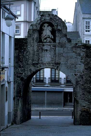 Puerta de Santiago,Murallas de LUGO,Galicia ESPAÑA