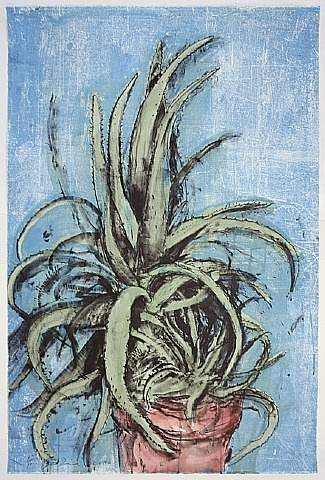 Jim Dine, New Mexican Aloe