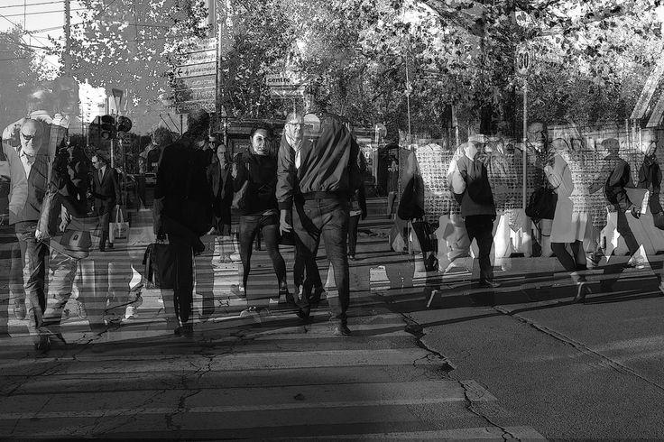 Sandro Lecca, Mobile human landscape, Milano, 2014