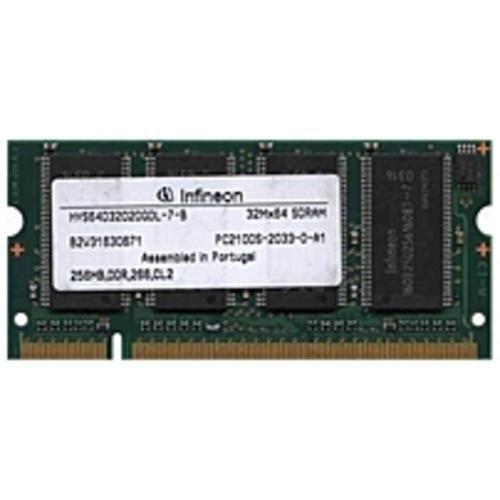 NOB Infineon HYS64D32020GDL-7-B 256 MB SO-DIMM Memory Module - DDR SDRAM - 200-Pin PC-2100 - 266 MHz