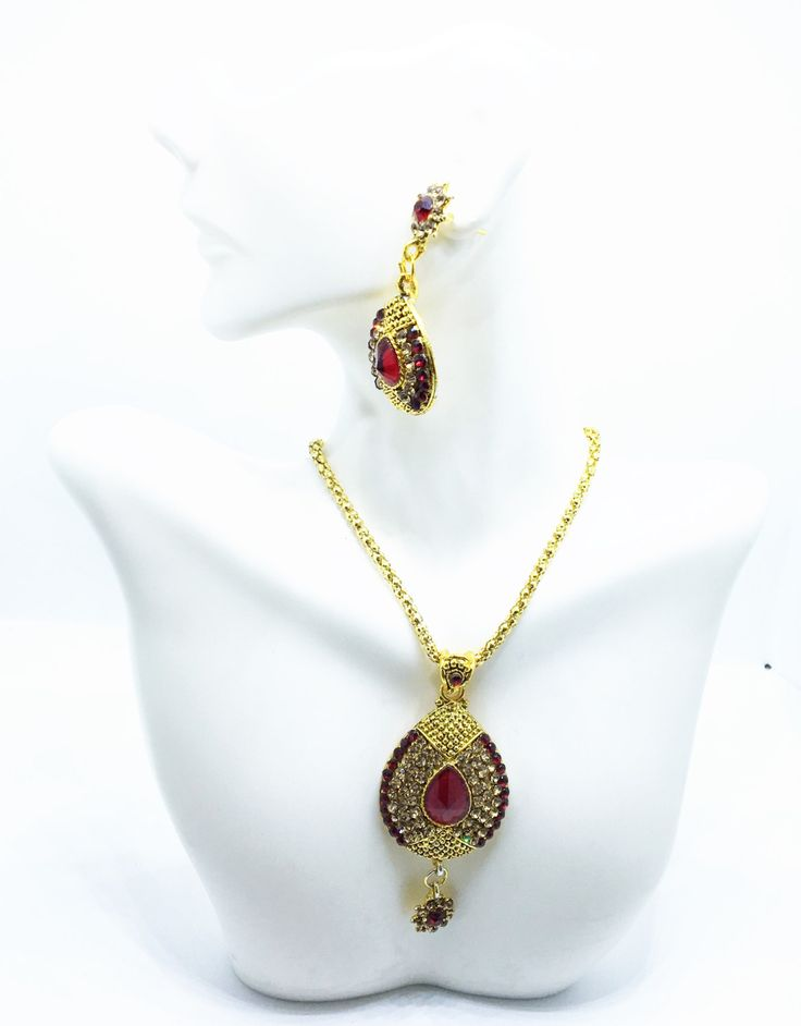 Red,crimson,Maroon bollywood jewelry set,Gift for her,Imitation set,Fancy jewelry,Cystal stone jewelry by COLOURNTHREAD on Etsy