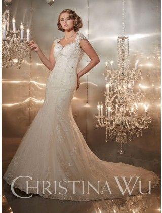 Christina wu wedding dress style 15417