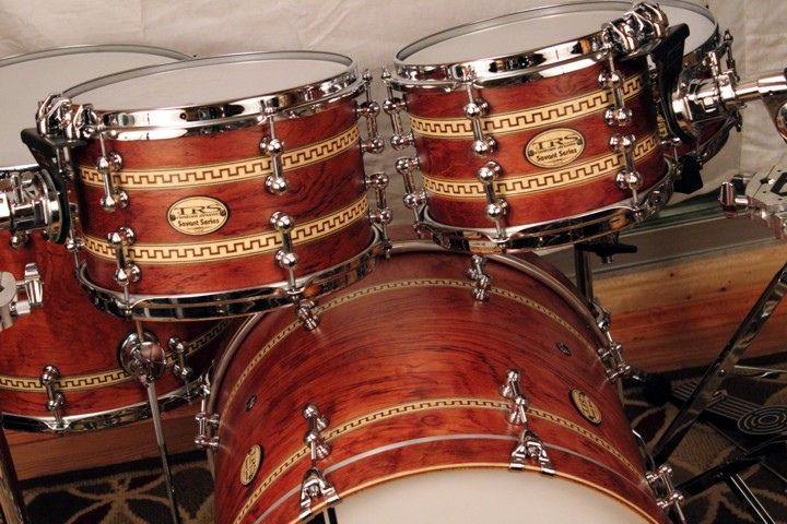 custom drums & percussion   Exotic Drum Sets