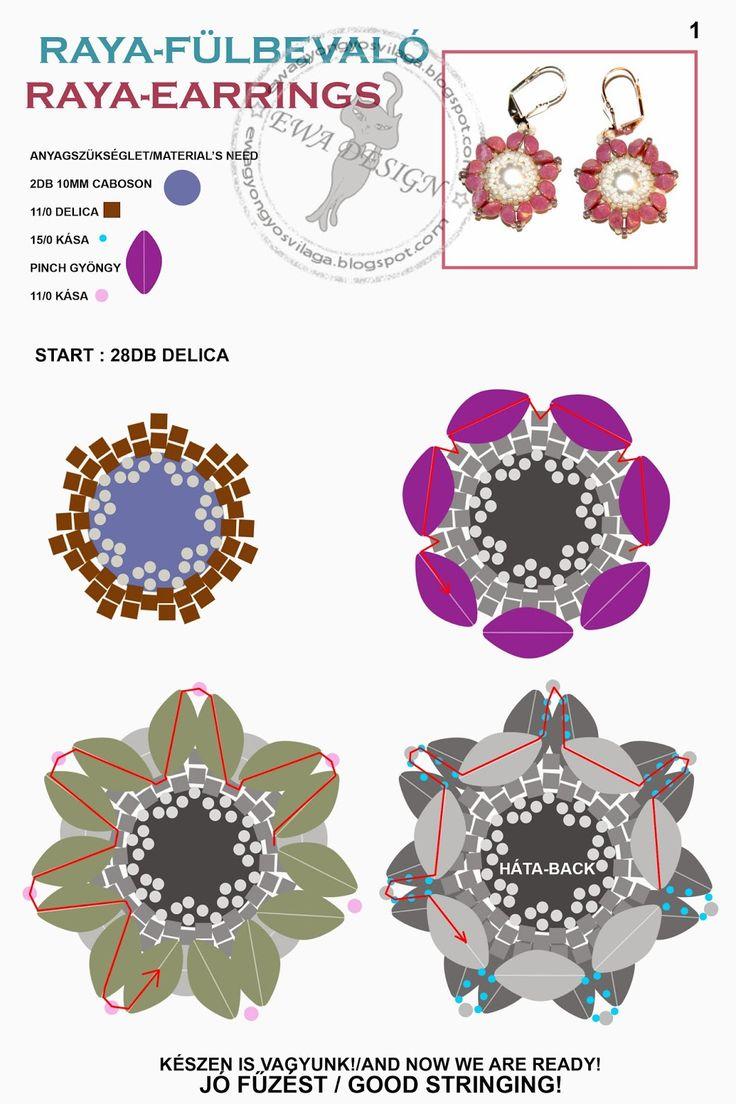 Raya minta 1. / Raya pattern 1. - Ewa gyöngyös világa!