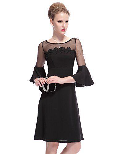 Ever-Pretty - Robe -  Femme -  Noir - Noir - 6 Ever-Pretty http://www.amazon.fr/dp/B00JZI3FBO/ref=cm_sw_r_pi_dp_vBSzwb0BMVQNJ