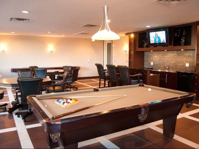 Uptown Dallas Apartment With Billiards Table. Bryson At City Place Is An  Urban Apartment Community