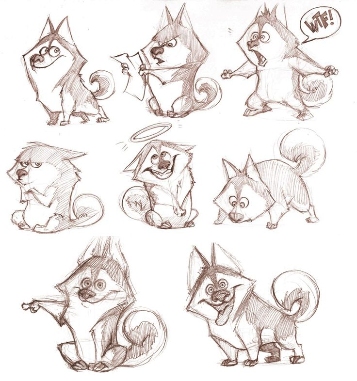 CHARACTER DESIGN REFERENCES | Find more at https://www.facebook.com/CharacterDesignReferences if you're looking for: #line #art #character #design #model #sheet #illustration #best #concept #animation #drawing #archive #library #reference #anatomy #traditional #draw #development #artist #how #to #tutorial #conceptart #modelsheet #animal #animals #dog #wolf #fox #dogs