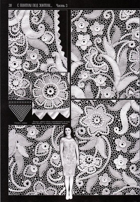 Как вязать цветы в тунисской технике - Perchinka63