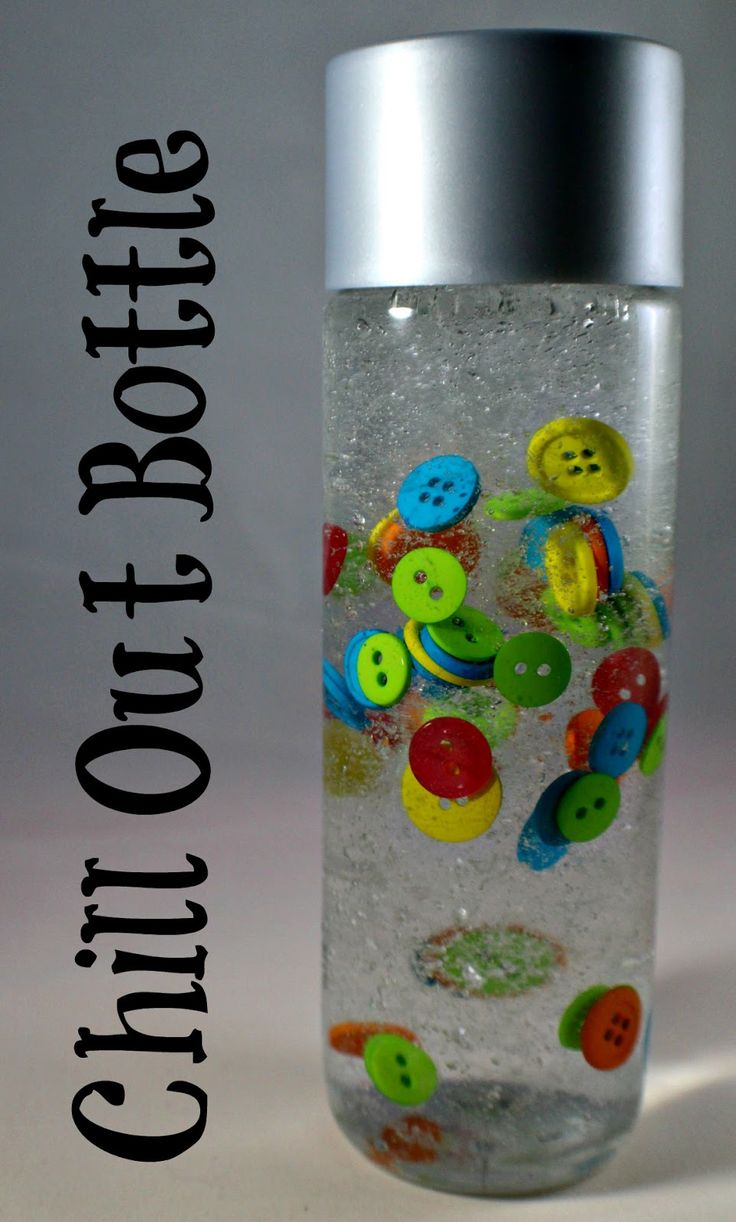 So I have been spending a lot of time on Pinterest looking at pictures of calm down sensory bottles and have been dying to make ALL THE BOT...