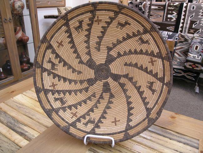 Apache Polychrome Basket Circa 1900-1910