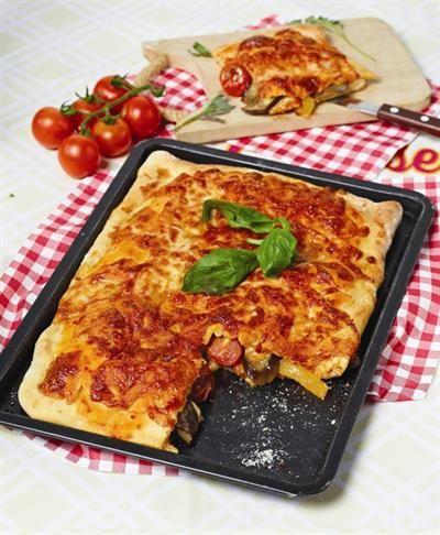 Stuffed Eggplant Pizza