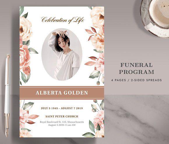 Funeral Memorial Card Program Fp005 Memorial Cards For Funeral Memorial Cards Funeral Memorial