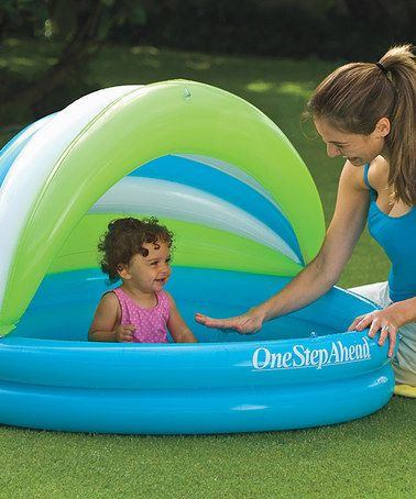 Take A Look At This Soft Seat Baby Pool Canopy By One Step Ahead On