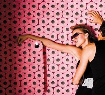 65 best koziel images on pinterest - Trompe l oeil toilette ...