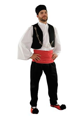 Vlach Male Traditional Dance Costume - Ελληνικές Παραδοσιακές Φορεσιές Στολές - www.nioras.com
