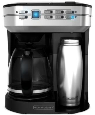 Black & Decker CM6000BDM Café Select 12-Cup Dual Coffee Maker