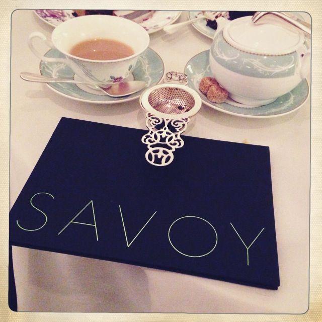 Afternoon Tea @ The Savoy, London
