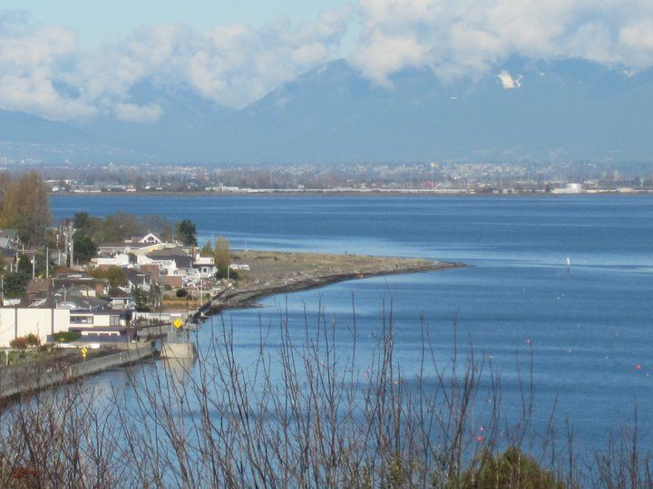 Point Roberts Washington USA with Vancouver British Columbia Canada in the distance!