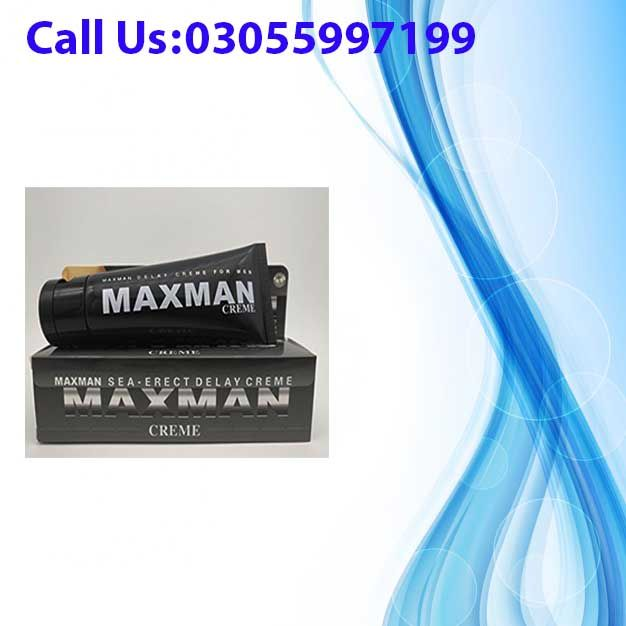 Maxman Delay Cream In Pakistan For Male Is Internationally Rated