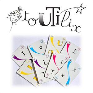 Toutilix est un jeu créé par Christine Larquetout. On peut même parler d'un ensemble de jeux puisque les 110 cartes contenues dans la boite permettent de jouer à pas moins de 35 jeux différents ! Tous ces petits jeux permettent de manipuler les lettres et l'alphabet, de fabriquer des mots et des phrases… de manier […]