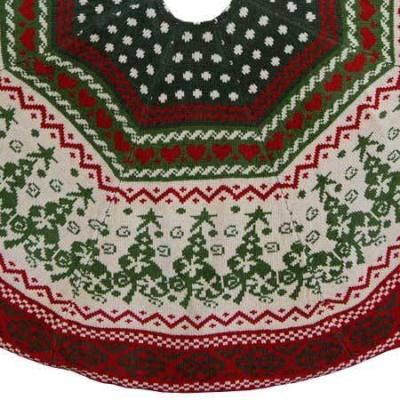 Christmas Tree Skirt Knitting Pattern : 48