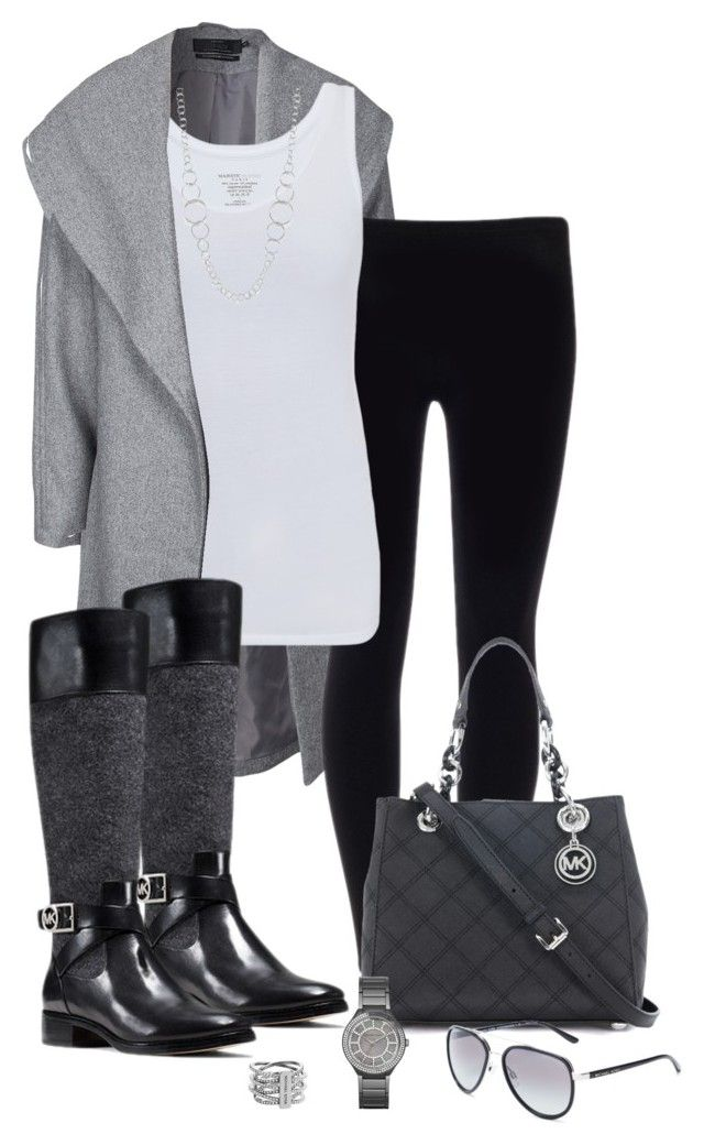 Untitled #312 by emmalyn-evers on Polyvore featuring polyvore, Mode, style, Majestic, ONLY, MICHAEL Michael Kors, Michael Kors, Ippolita, fashion and clothing