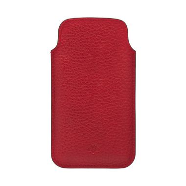 Mulberry Festival Style - Mulberry iPhone 5 Cover in Poppy Red Soft Grain Leather