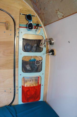 Interior Design Ideas For Camper Van Organization22