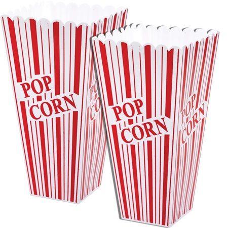 Plastic Popcorn Holders - 2/pkg