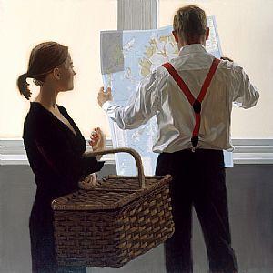 """""""Day Trip"""" ~  Iain Faulkner (Scottish, born 1973)"""