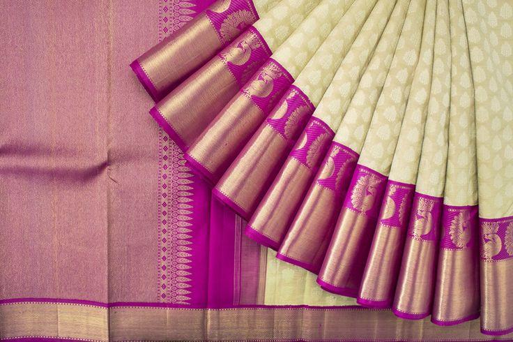 Tharakaram Handwoven Kanjivaram Silk Sari 1023962 - Brands / Saris / Tharakaram - Kanjivarams - Parisera