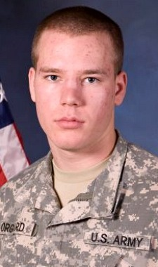 Army SPC. Tyler J. Orgaard, 20, of Bismarck, North Dakota. Died December 3, 2012, serving during Operation Enduring Freedom. Assigned to 818th Engineer Company, 164th Engineer Battalion, North Dakota Army National Guard, Williston, North Dakota. Died in Lashkar Gah City, Helmand Province, Afghanistan, of wounds suffered when enemy forces attacked his unit with an improvised explosive device.