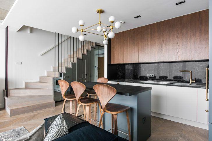 Современная квартира для семьи в Вильнюсе (81 кв. м)   Пуфик - блог о дизайне интерьера