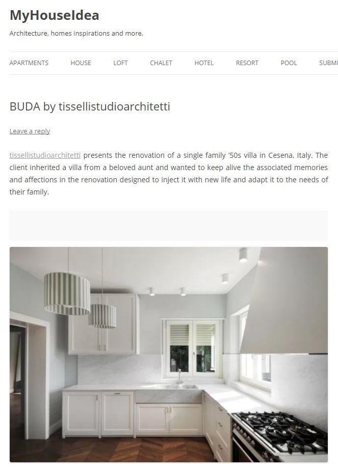 #tissellistudio single family villa in Cesena, published by MyHouseIdea