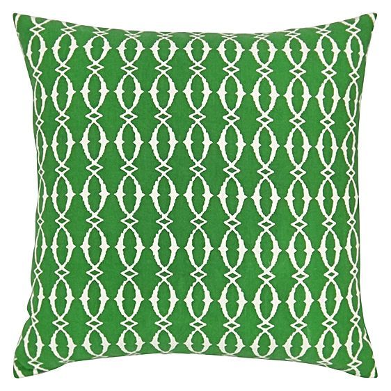 Retro aesthetics and cottony comfort come together in the Beach Hut Cushion from DG37, expressing modernity in your space.