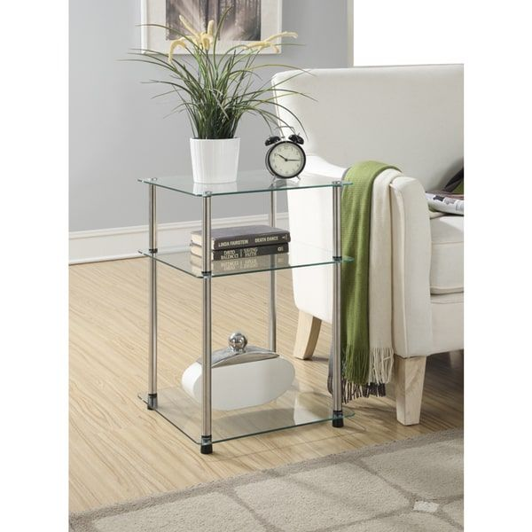 25 Best Ideas About Glass End Tables On Pinterest