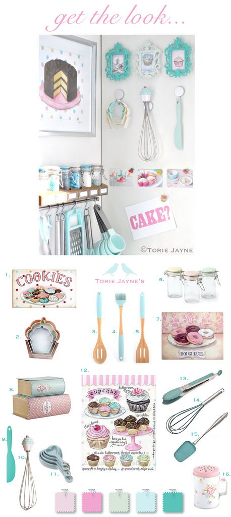 Get the look - baking corner by Torie Jayne