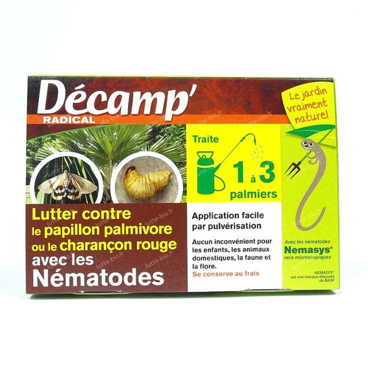 pack frais : Nématodes contre le charançon rouge ou papillon du palmier Décamp