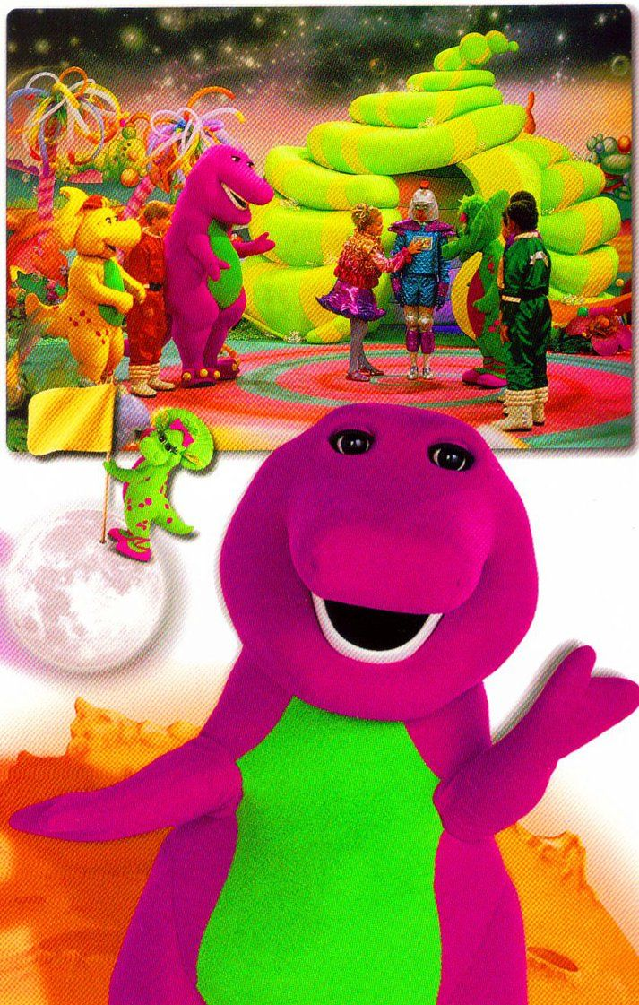 fun in space with barney and friends by bestbarneyfan deviantart