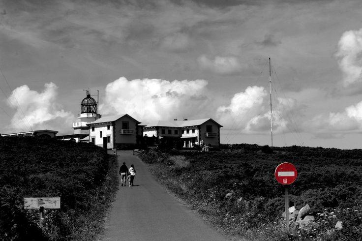 Faro de Estaca de Bares, Galicia, España.