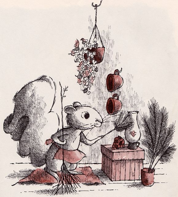 Miss Suzy | Illustrator: Arnold Lobel...this was my favorite book as a child, I still have it.  Maybe this is why I feed the whole neighborhood of squirrels!