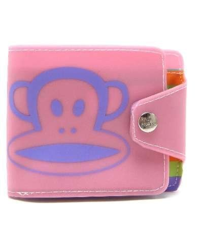 Paul Frank Core Julius Jelly Snap Wallet - Pink / Purple Paul Frank. $18.99