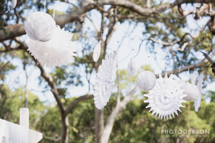 Margaret River Wedding ~ Paper Lanterns ~ Spring Wedding ~ Fairy Tale Wedding ~ Forest ~ White Wedding ~ Wedding Styling ~ Wedding Floral Design ~ Australia weddings ~ UK Weddings ~ International wedding and event styling ~Styling By http://www.chicrustique.com.au/about ~ Photography http://www.photogerson.com/