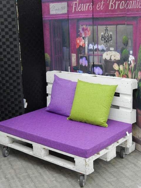 Oltre 20 migliori idee su divano pallet su pinterest for Cuscini per pallet