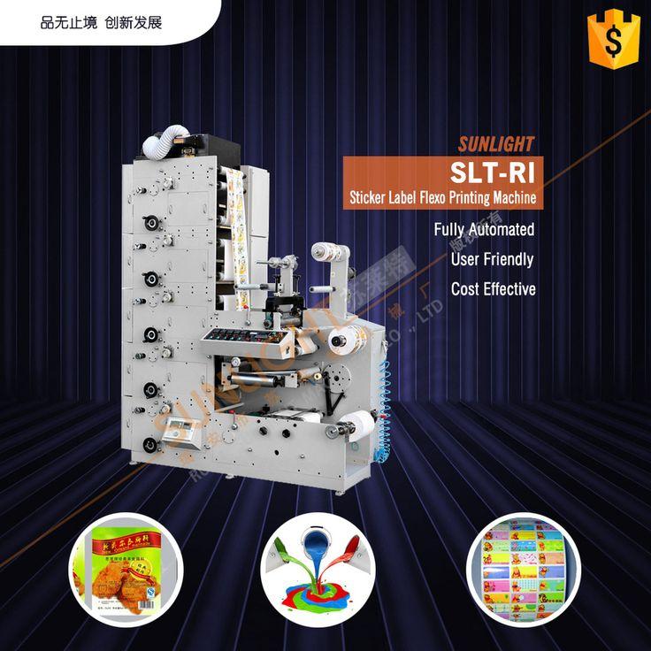 SLT-RI colors art paper flexographic printers